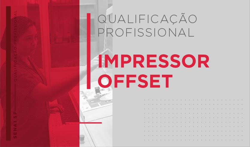 Curso de Qualificação - Impressão Offset